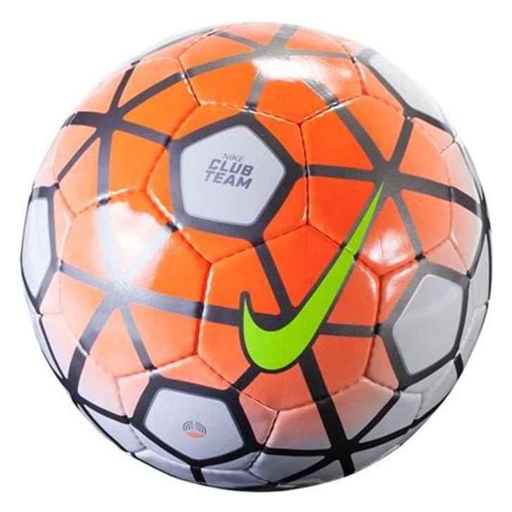 Nike Club Team Soccer Ball  - White/Orange- (061920)