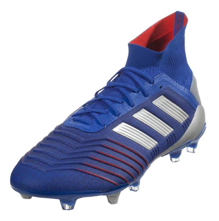 Adidas Predator 19.1 FG - Bold Blue/Silver Metallic/Football Blue (06819)