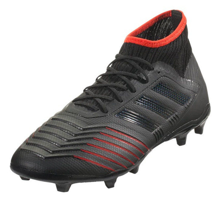 4ab39d8b975 Adidas Predator 19.2 FG - Core Black Active Red RC (020819) - ohp soccer