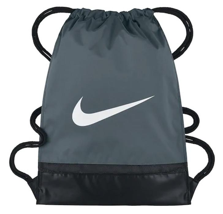Nike Brasilia Training Gymsack - Flint Grey/Black/White (013119)
