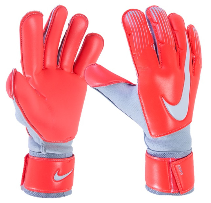 Nike GK Grip 3 - Light Crimson/Wolf Grey/Pure Platinum (013119)