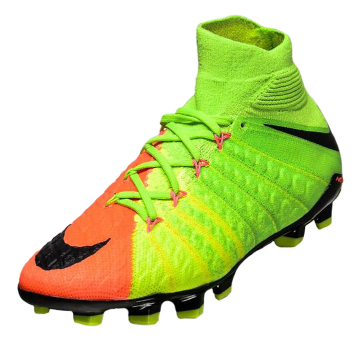 Nike Jr. Hypervenom Phantom 3 DF FG - Electric Green/Black RC (020719)