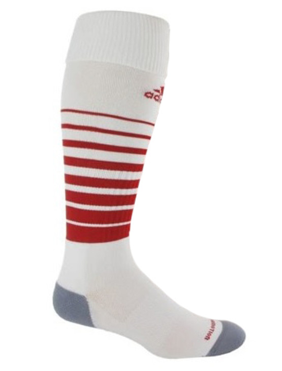 adidas Team Speed Sock - White/Power Red (021519)