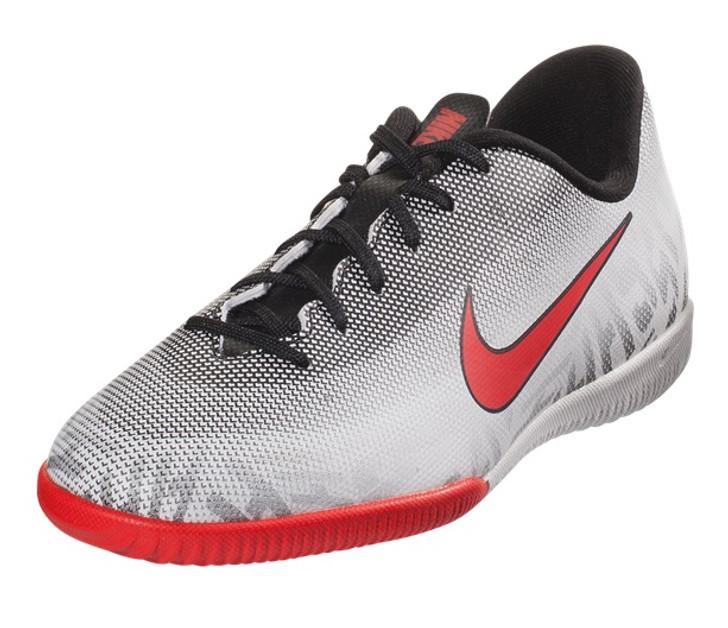 Nike Neymar Jr. Vapor 12 Academy IC - White/Challenge Red/Black- SD (120820)