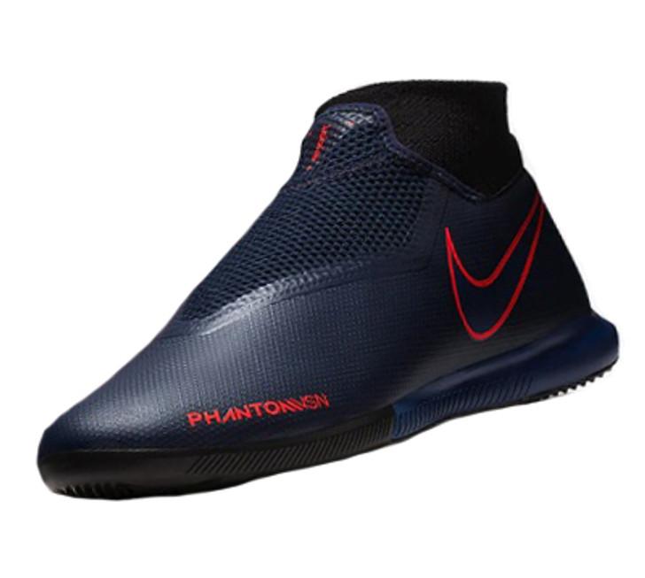 Nike Phantom VSN Academy Dynamic Fit IC - Obsidian/Obsidian/Black/Bright Crimson SD (032419)