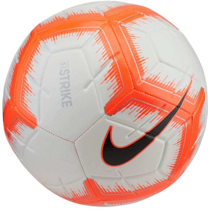 Nike Strike 18/19 Ball - White/Hyper Crimson/Black SD(122719)