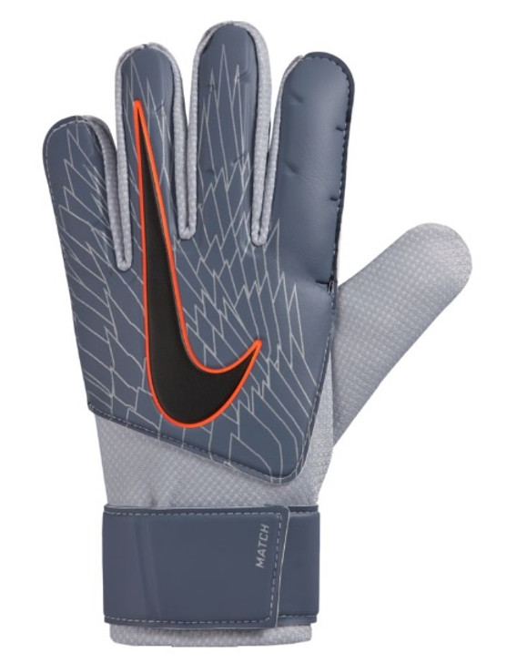Nike GK Match Gloves - Armory Blue/Metallic Silver/Black RC (011520)