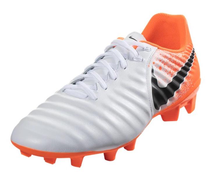 wholesale dealer 66b3e cb776 Nike Tiempo Legend 7 Academy FG - White Black Hyper Crimson RC (041119) -  ohp soccer