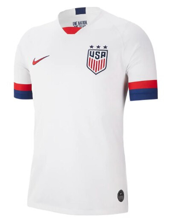 Nike Men's U.S. Stadium 2019 Home Jersey 3 Star- AJ4356-100