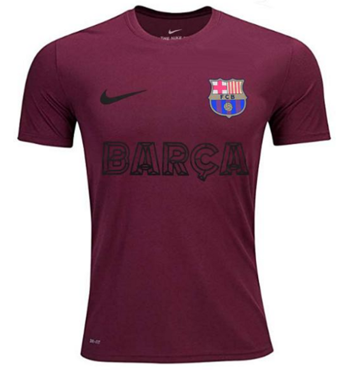 FC Barcelona Core Match Tee - Noble Red-  RC (072520)