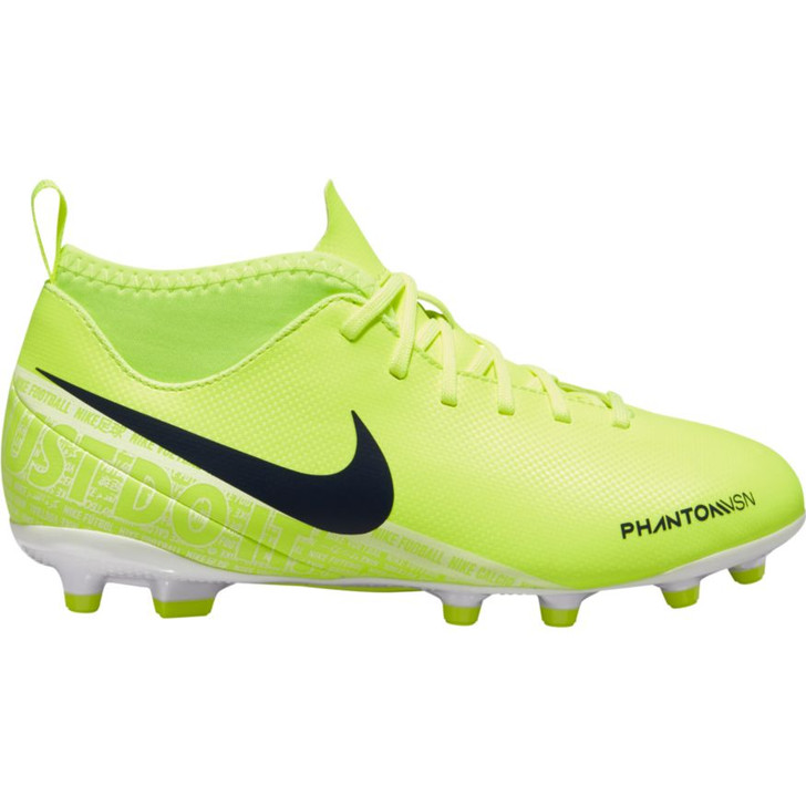 Nike Jr. Phantom VSN Club FG/MG - Volt/White (050920)