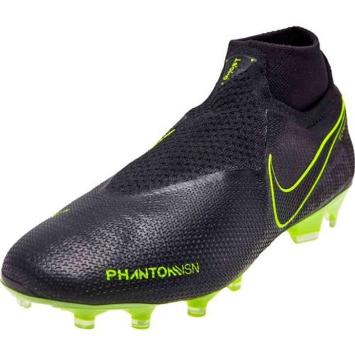 Nike Phantom VSN Elite DF FG - Black/Hyper Green (062719)