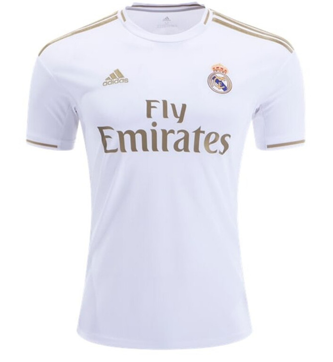 Adidas Real Madrid 19 20 Home Jersey- DW4433