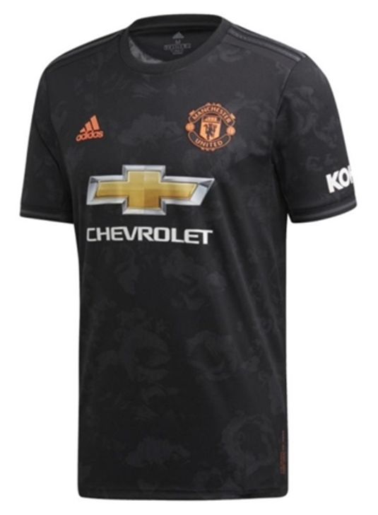 Adidas Manchester United 3rd Jersey 19/20 - Black/Red (062819)