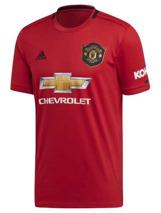 adidas Manchester United 19/20 Home Jersey - Red- (071820)