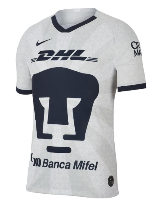 Nike Pumas Home Stadium Jersey 19/20 - White/Truly Gold/Obsidian (070919)