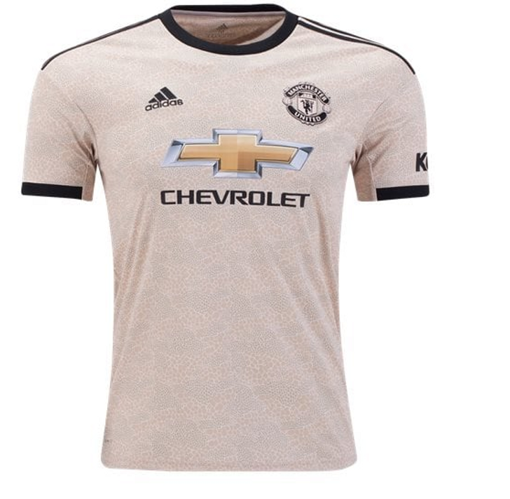 Adidas Manchester United Away Jersey 19/20 - Gold/Black (012420)