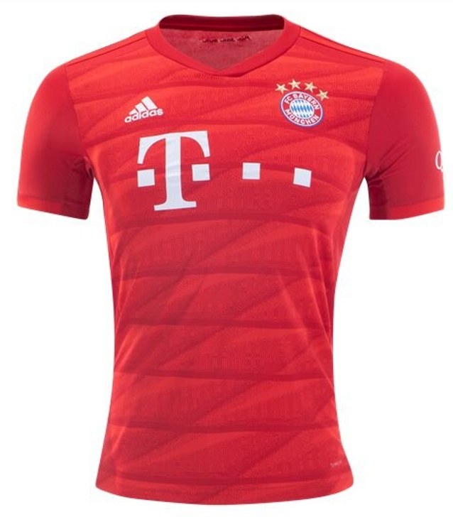 adidas FC Bayern Home Jersey FCB - True Red (051220)
