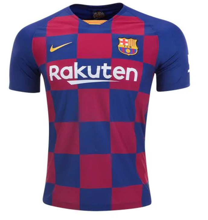 Nike F.C. Barcelona Home Jersey 19/20 - Deep Royal Blue/Varsity Maize (092319)