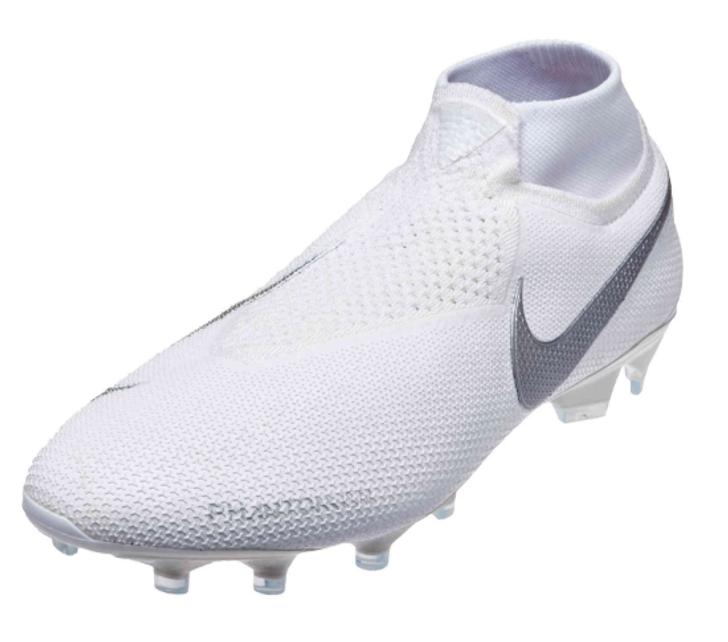 Nike Phantom VSN Elite DF FG - White/White/Metallic Platinum (091619)