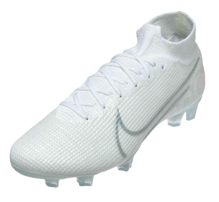 Nike Superfly 7 Elite FG - White/White (091619)