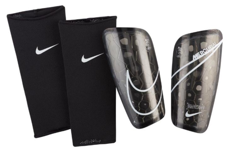 Nike Mercurial Lite Shinguards - Black/White (122819)