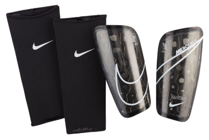 Nike Mercurial Lite Shinguards - Black/White (122819)