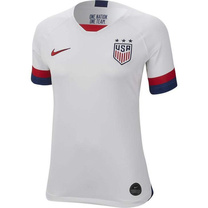 Nike Women's USA 2019 Home Jersey- AJ4398-100