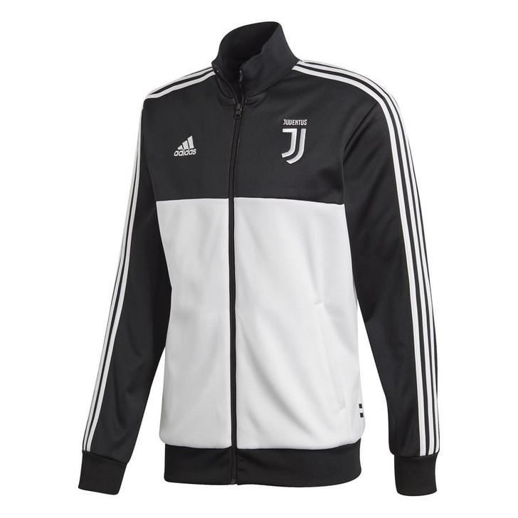 Adidas Juventus 3 Stripes Track Top 19/20 - White/Black (051520)