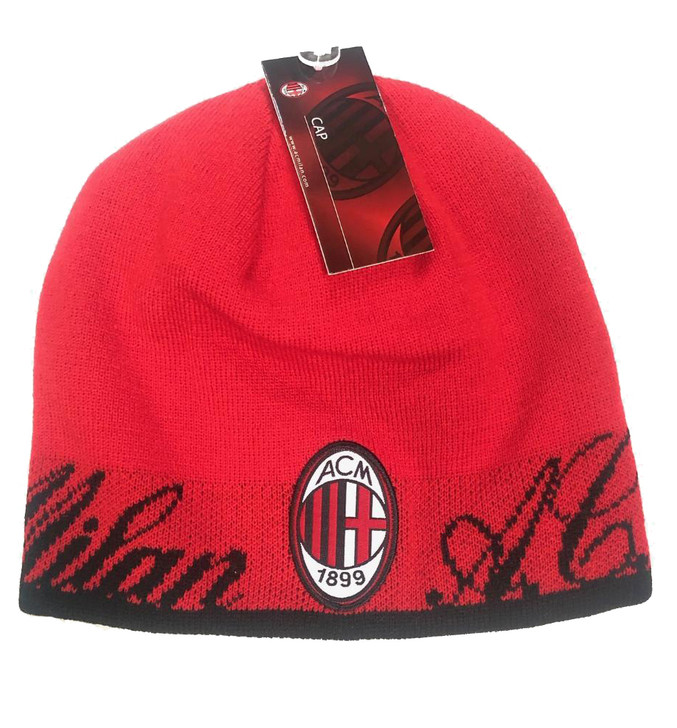 AC Milan Team Beanie - Red/Black/White