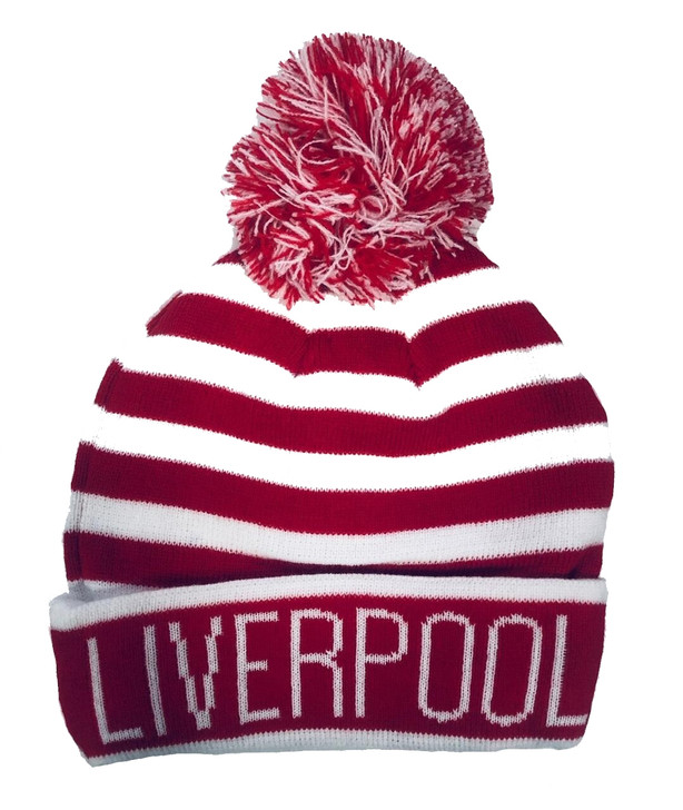 Liverpool Beanie - Red/White (120519)