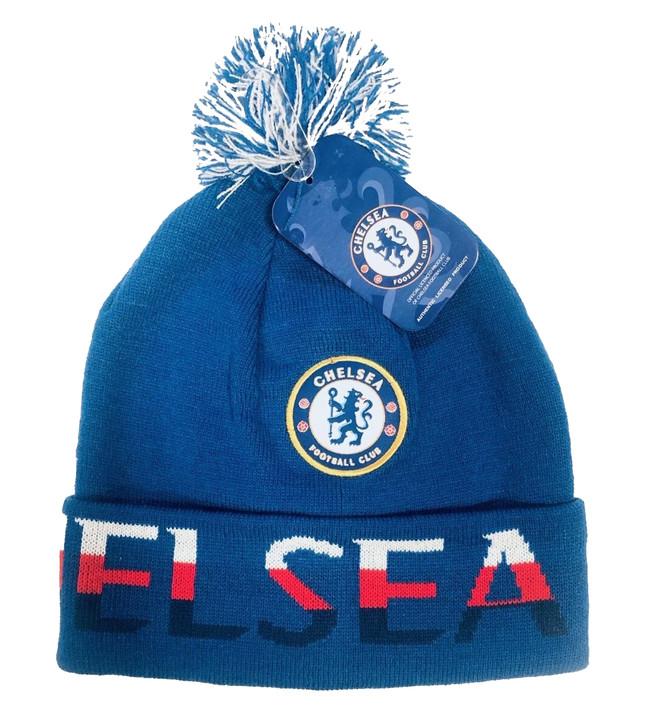 Chelsea Beanie - Blue/White/Red (120519)