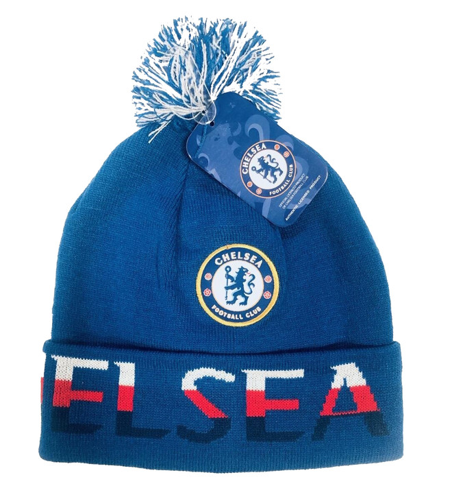 Chelsea Beanie - Blue/White/Red (120519)