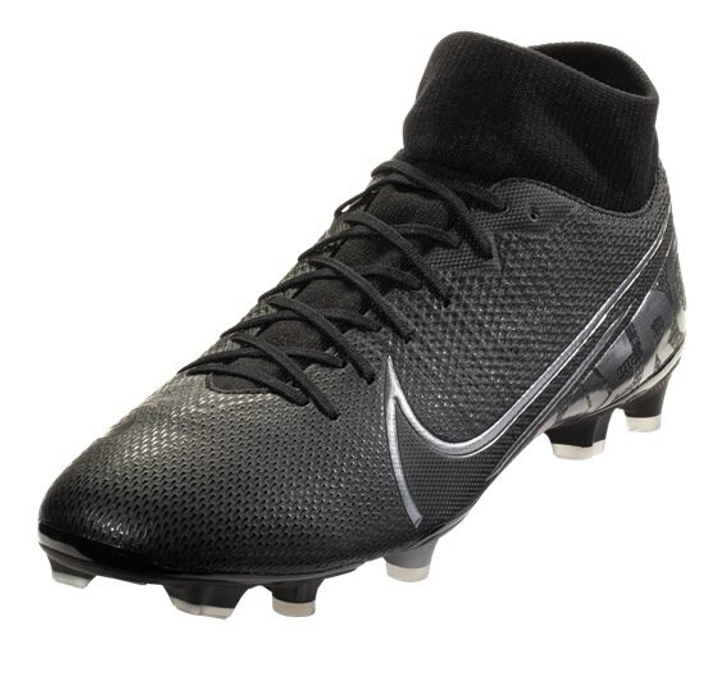 Nike Mercurial Superfly 7 Academy FG/MG - Black/Metallic Grey/Grey- (120320)