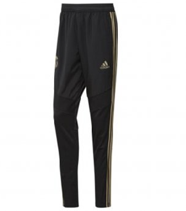 adidas Real Madrid Training Pants - Black/Gold (010320)