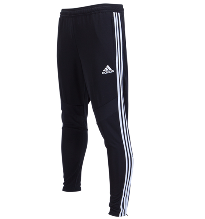 adidas Tiro 19 Training Pants - Black/White- SD (013120)