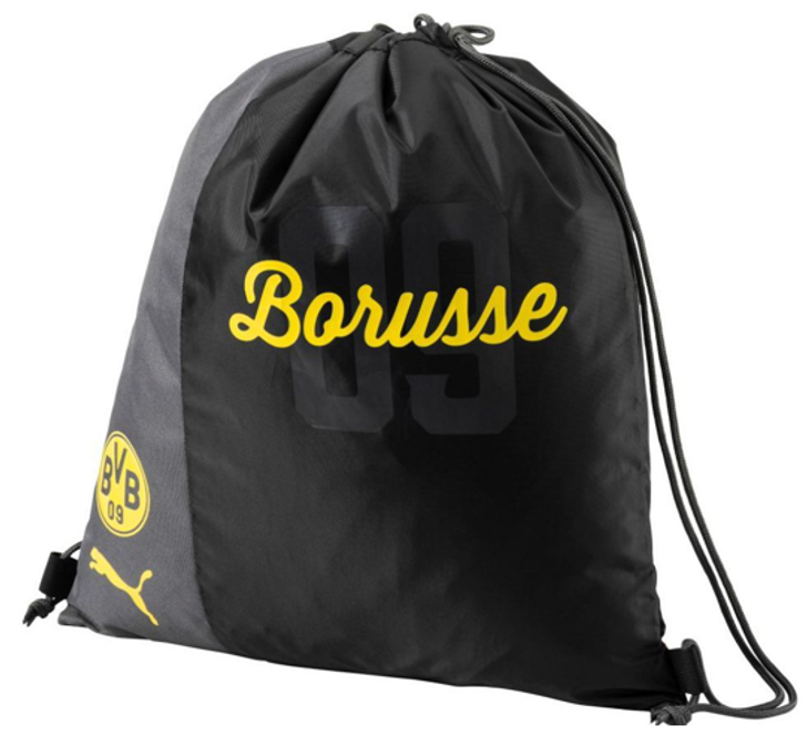 Puma BVB Fanwear Gym Sack - Cyber Yellow/Puma Black (122319)