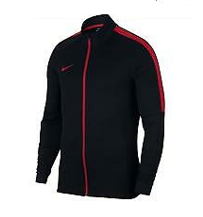 Nike Academy Soccer Track Jacket - Ignite Drill Black/Lite Crimson (122719)