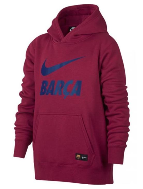 Nike 2018-19 Barcelona NSW Hoodie - Red (051520)