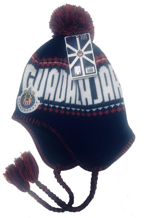 Chivas Guadalajara Peruvian Beanie - Navy/Red/White RC (123119)