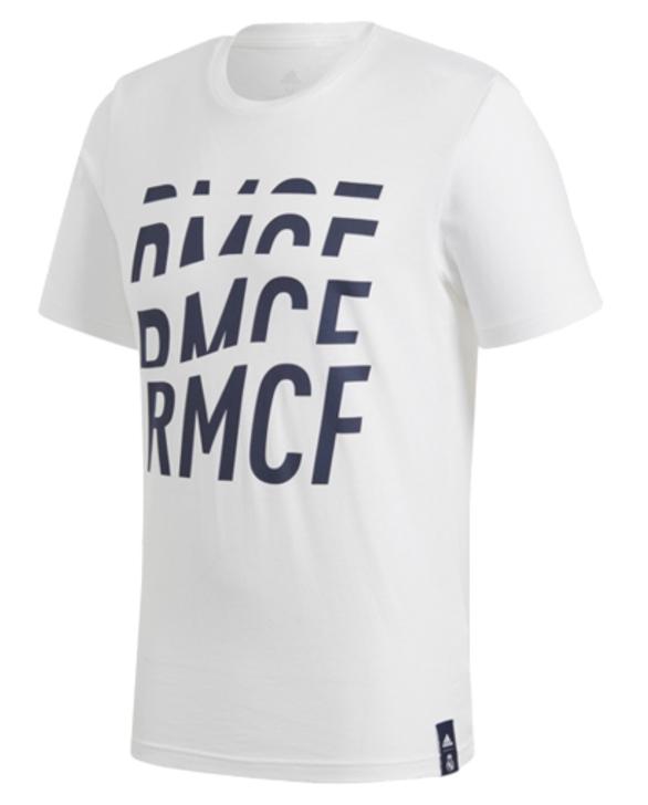 adidas Real Madrid C.F DNA Tee - White/Navy (123119)