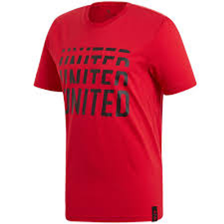 adidas Manchester United F.C DNA Tee - Red/Black SD (123119)