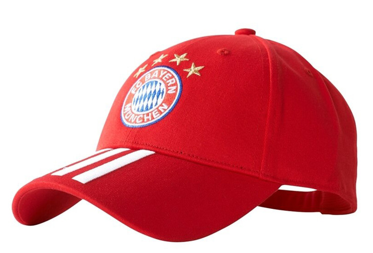 adidas FC Bayern 3S Cap - Red/White (123119)