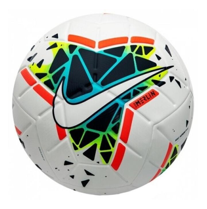 Nike Merlin Premium Match Soccer Ball - White/Multicolor