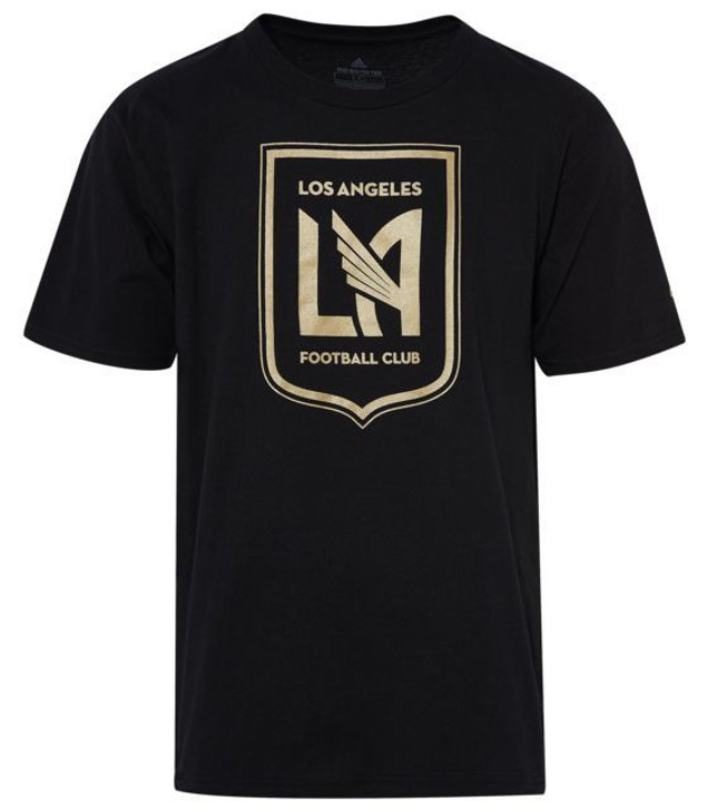 Adidas MLS Logo Squad Primary T-Shirt - Black/Gold (010720)