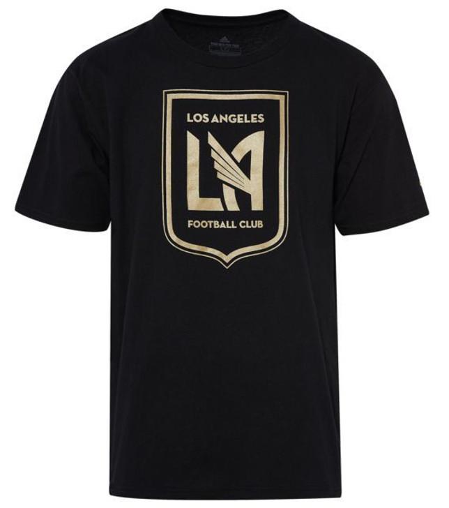 Adidas MLS Logo Squad Primary T-Shirt - Black/Gold (010720)