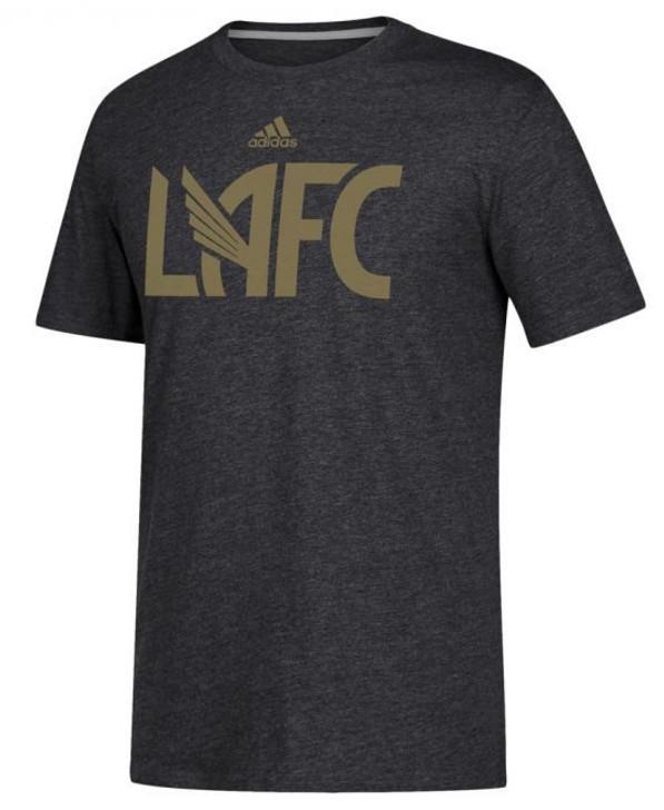Adidas LAFC 2019 Element T-Shirt - Grey/Gold (010920)
