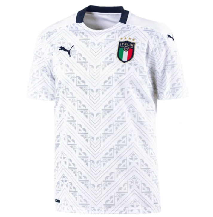 Puma FIGC Away Replica 19/20 Jersey- 756981-08