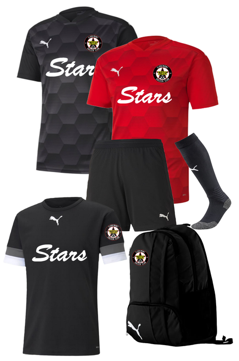 Claremont Stars Youth Player Kit - Puma Final 21 Graphic