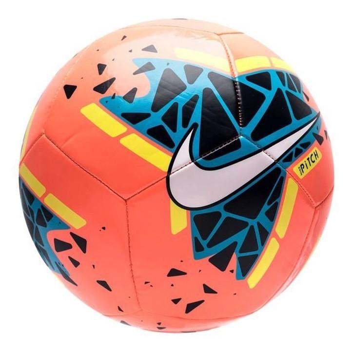 Nike Pitch Soccer Ball - Bright Mango/Obsidian/Volt/White